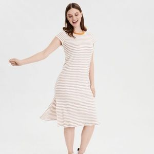 American Eagle Slit Midi Dress